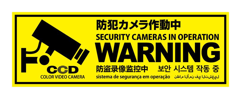 中 防犯 カメラ 作動